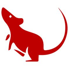 Chinese Zodiac rat symbol Perhaps add a gold thing underneath to make it stand? Chinese New Year Greeting, New Year Greeting Cards, Rat Zodiac, Chinese Zodiac Rat, Rat Tattoo, Rat Man, Animal Symbolism, Year Of The Rat, Pet Rats