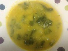 Sopa de Cenoura com Feijão Branco
