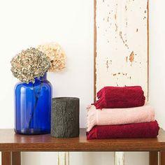 Set of 8 Towels - Red | CASA DI BASSI | MONOQI