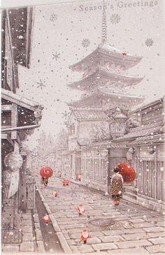 okiya:  Japanese_xmas_card (byLord Mariser)