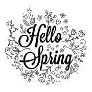 De temperaturen beginnen te stijgen, de vogeltjes fluiten en de natuur bloeit weer op. Heet de lente welkom met deze leuke krijtstift raamtekening.