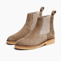 Women's Chelsea Boot StoneHobes Shoes Footwear Flats Boots Leather Suede Color