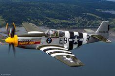 """P-51B """"Impatient Virgin"""" Mustang"""