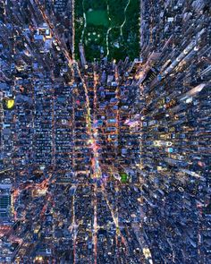 Challenges faced when shooting such works included high winds and New York's crowded airspace, Andrew said. (Photo: Andrew Griffiths/Lensaloft/Caters)