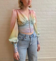 February 27 2020 at fashion-inspo Satin Top, Lookbook, Looks Style, Mode Inspiration, Aesthetic Clothes, Blouse Designs, Ideias Fashion, Ready To Wear, Fashion Dresses