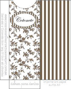 Molde Envelope Cotonete – Kit Toilet Banheiro