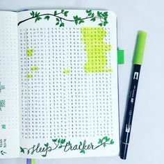 I just love this sleep tracker inspired by Boho Berry for my bullet journal! This inspirational layout takes a little more work to create but saves time when filling it out. Absolutely love it and you should definitely try a sleep spread like this!