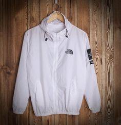 Fashion Unisex Lover's The North Face Sports Coat Windbreaker White
