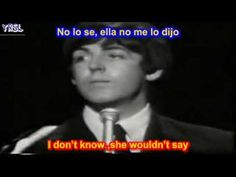 ▶ The Beatles - Yesterday ( SUBTITULADA ESPAÑOL INGLES ) - YouTube