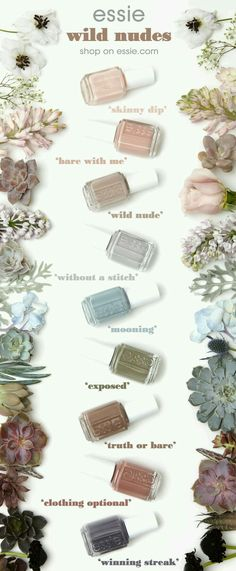 Nail Colors, Nail Polish Trends, Nail Care & At-Home Manicure Supplies by Essie. Shop nail polishes, stickers, and magnetic polishes to create your own nail art look. Spring Nail Colors, Spring Nails, Manicure E Pedicure, Pedicure Ideas, Pedicures, Pedicure Designs, Mani Pedi, Toe Nail Designs, Tips Belleza