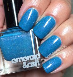 My Nail Polish Obsession: Emerald & Ash That's What She Said
