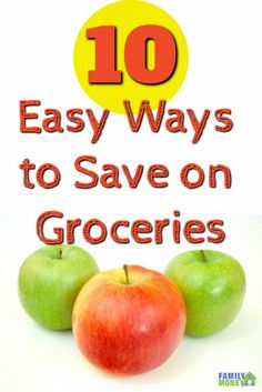 I love to save money on groceries and these are some easy ones to put in place. I had no clue about the last tip! | Saving Money | Food costs | Groceries |