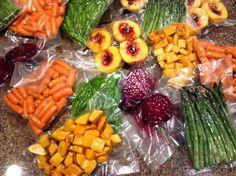 sous vide vegetables