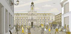 La Puerta del Sol de Madrid, por Juan Berrio
