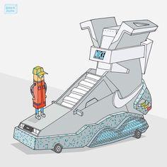 Nike air mag by Ghica Popa