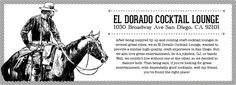 El Dorado Cocktail Lounge | Local's dive bar with a swanky twist, serving cheap drinks in a sophisticated atmosphere, with typical downtown pretension nowhere in sight. | Happy Hour