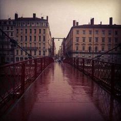 Rainy day. #Lyon (Pris avec Instagram)