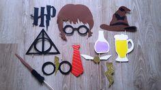 Accessoires photobooth x 12 Harry Potter : Autres papeterie par stefebricole