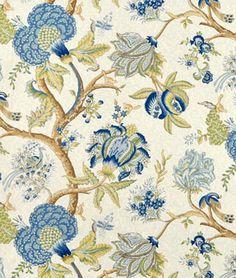 Shop Richloom Darjeeling Blue Stone Fabric at onlinefabricstore.net for $17.5/ Yard. Best Price & Service.