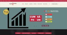 Our team designed the website for Impuls Training Company http://impulstraining.ro/