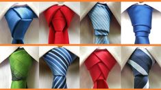 8 Different ways to tie a necktie . How to tie a tie How to tie a necktie - 8 different ways to tie your tie . In this video you will learn how to tie : Half Windsor,Full Windsor,Prince Albert,Merovingian knot,. Half Windsor, Windsor Knot, Cool Tie Knots, Cool Ties, Tie A Tie Easy, Four In Hand Knot, Eldredge Knot, Tie A Necktie, Fashion Infographic