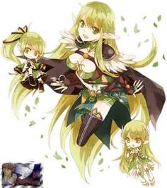 The 3 2nd job classes of Rena, Elsword :3