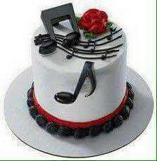Festa tema musica ♥ Music Themed Cakes, Music Cakes, Theme Cakes, Deco Cupcake, Cupcake Cakes, Cupcake Picks, Cupcake Toppers, Food Cakes, Cake Icing