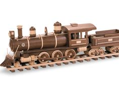 PATTERNS & KITS :: Trains :: 74 - Locomotive & Tender (Coal Burner) -
