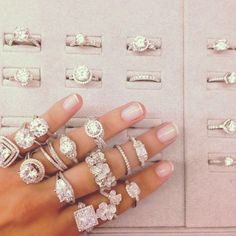 Engagement Ring Styles - Wedding look