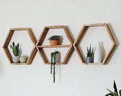 Hanging Shelves / Set of 2 Large Shelves / Floating Shelves / Swing Shelves Large Shelves, Rope Shelves, Plant Shelves, Hanging Shelves, Wooden Shelves, Floating Shelves, Shelf, Wall Shelves, West Elm
