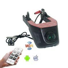 For Nissan Bluebird Sylphy Car Parking Camera Car Wifi DVR  Novatek 96658 Dual Camera Car Black Box camcorder