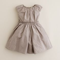 J Crew - this would look terrible on me but the lines have serious little girl dress potential