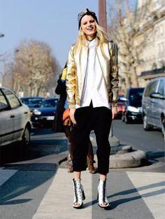Das wird chic: Streetstyle während der Modeshows Redaktion: Daniella Gurtner, Fotos: Imaxtree