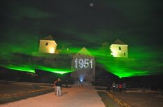 Thury-vár Lézer show