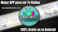 Ver Tv Online, Android, Viera, App, Youtube, Free, Get Well Soon, Apps, Youtubers