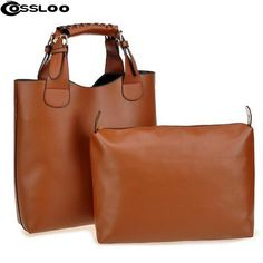1dc0f64fd824 Shop Camel Plain 2 Pieces Ol Pvc Pu Hand-Bags from our latest fashion  styles. Fashionmia is a professional Camel Plain 2 Pieces Ol Pvc Pu Hand- Bags online ...