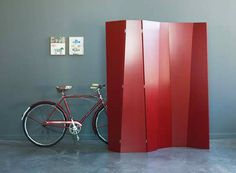 Inspiration for a DIY folding screen. This folding screen by Atlas Industries. via the improvised life