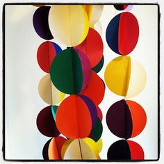 Circle Garland by nidification on Etsy