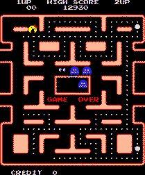 Mrs. Pac Man/Pac Man Arcade Game