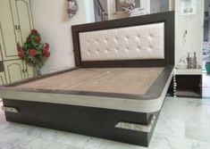 We also need lots of furniture to make the room Just like a wardrob in the room. Simple Bed Designs, Bed Designs With Storage, Double Bed Designs, Box Bed Design, Bedroom Bed Design, Bedroom Furniture Design, Bedroom Decor, Wood Furniture Legs, Bed Furniture