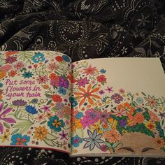 I am so in love with this coloring book!!! #IHeartMyHair