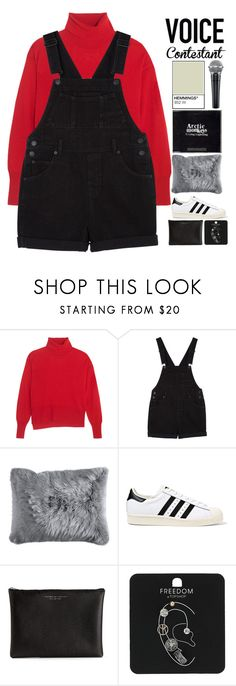 """""""✨TV Fashion: The Voice✨"""" by grunge-alien ❤ liked on Polyvore featuring MM6 Maison Margiela, Monki, Pier 1 Imports, adidas Originals, Carven, Topshop, thevoice and YahooView"""