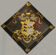 Trollope-Bellew family Hatchment 1, Crowcombe. | Flickr - Photo Sharing! Coat Of Arms, Funeral, Black Backgrounds, Knight, Symbols, Display, History, Badges, Flags