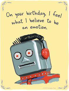 Robot Birthday Wishes