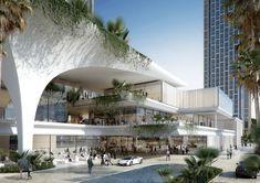 Huafa Plaza - New Sites Shopping Mall Architecture, Retail Architecture, Landscape Architecture Design, Green Architecture, Commercial Architecture, Futuristic Architecture, Concept Architecture, Architecture Facts, Architecture Colleges