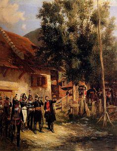 The Orientation, Jean Baptiste Edouard Detaille Napoleon French, Edouard Detaille, French History, French Army, Napoleonic Wars, France, Military Art, Revolutionaries, Pintura