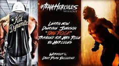 Hercules Workout and Diet: How Dwayne 'The Rock' Johnson trained to play a Demigod