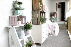 GAAYA arte e decoração: Reaproveitamento - Caixotes e gavetas