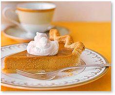 Traditional Low Carb Pumpkin Pie