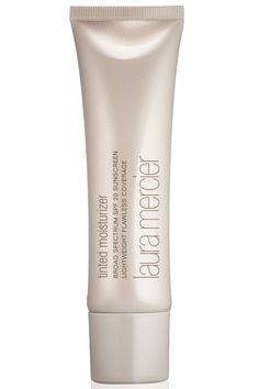 Laura Mercier Tinted Moisturizer Broad Spectrum SPF 20, $44 https://www.lauramercier.com/makeup/flawless-face/tinted-moisturizer/?siteID=TnL5HPStwNw-193DAcb5wKcLG3flyVCqqw